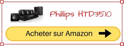 Acheter Philips HTD3510 Pas cher