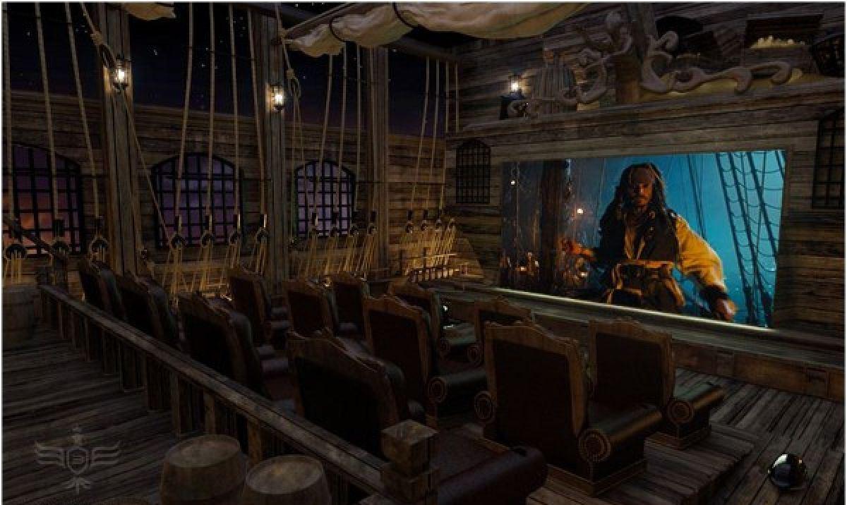 Home cinema pirates des caraiibes