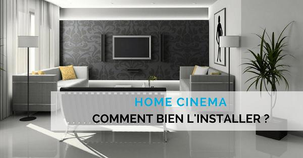 installation home cinema