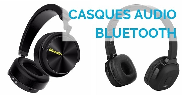 Casques audio bluetooth Bluedio T5 et New